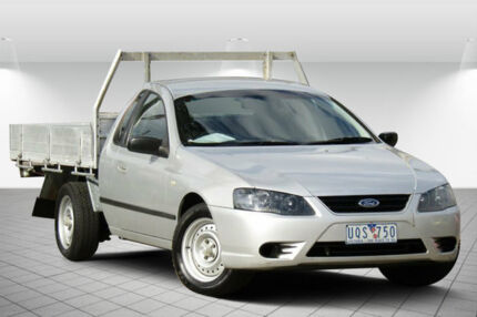 2006 Ford Falcon BF Mk II XL Super Cab Silver 4 Speed Sports Automatic Cab Chassis Oakleigh South Monash Area Preview