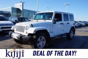 2011 Jeep Wrangler Unlimited 4WD UNLIMITED SAHARA Heated Seats,