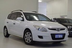 2009 Hyundai i30 FD MY09 SX cw Wagon White 4 Speed Automatic Wagon Myaree Melville Area Preview