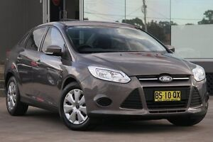 2012 Ford Focus LW MK2 Ambiente Brown 6 Speed Automatic Hatchback Old Guildford Fairfield Area Preview