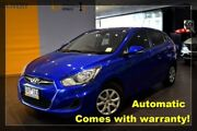 2013 Hyundai Accent RB Active Blue 4 Speed Sports Automatic Hatchback Hoppers Crossing Wyndham Area Preview