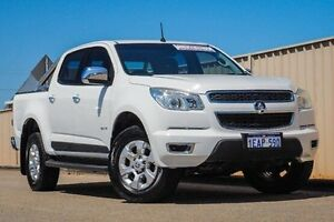 2012 Holden Colorado RG MY13 LTZ Crew Cab White 6 Speed Sports Automatic Utility Pearsall Wanneroo Area Preview