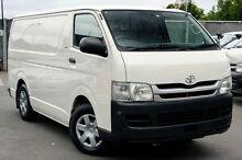 2009 Toyota Hiace  White Manual Van Cranbourne Casey Area Preview