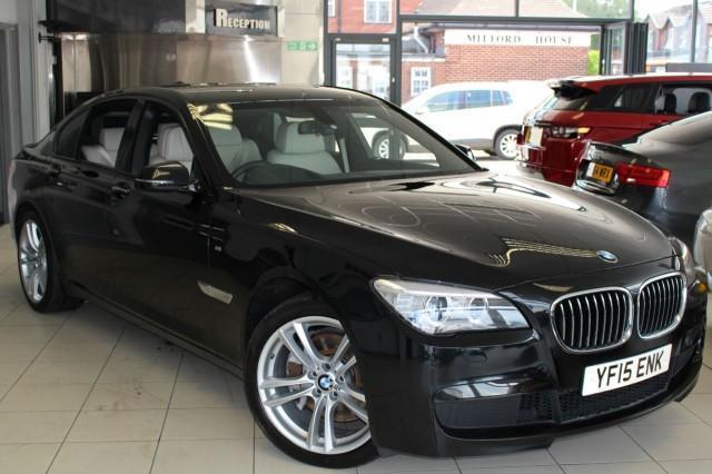 2015 K BMW 7 SERIES 3.0 730D M SPORT EXCLUSIVE 4D AUTO 255 BHP DIESEL
