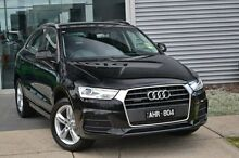 2016 Audi Q3 8U MY16 Black 7 Speed Sports Automatic Dual Clutch Wagon Burwood Whitehorse Area Preview