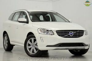 2017 Volvo XC60 DZ D4 Kinetic Ice White 6 Speed Automatic Wagon Mount Gravatt Brisbane South East Preview