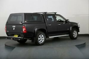 2007 Holden Rodeo RA MY06 Upgrade LT (4x4) Black 4 Speed Automatic Crew Cab P/Up