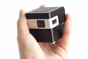 Insignia Portable Pico Projector Cube