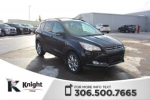 2013 Ford Escape SEL 4X4! Command Start! Heated, Leather Seats!