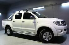 2010 Toyota Hilux KUN26R MY10 SR5 White 5 Speed Manual Utility Launceston Launceston Area Preview
