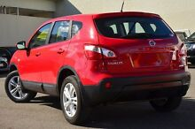 2013 Nissan Dualis J10W Series 3 MY12 ST Hatch X-tronic 2WD Red 6 Speed Constant Variable Hatchback Wilston Brisbane North West Preview