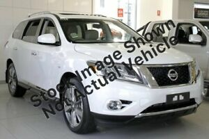 2013 Nissan Pathfinder R52 MY14 Ti X-tronic 4WD White 1 Speed Constant Variable Wagon Mount Druitt Blacktown Area Preview