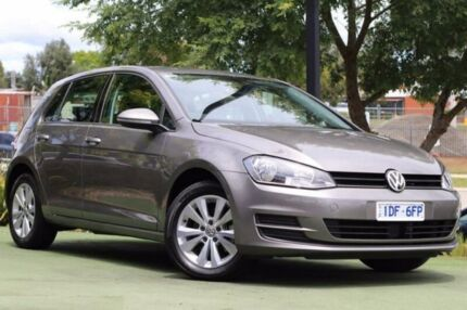 2015 Volkswagen Golf VII MY16 92TSI DSG Trendline Brown 7 Speed Sports Automatic Dual Clutch Berwick Casey Area Preview