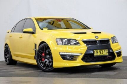 2011 Holden Special Vehicles GTS E Series 3 Yellow 6 Speed Sports Automatic Sedan