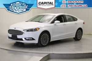 2017 Ford Fusion SE AWD *Leather-Sunroof-Navigation*