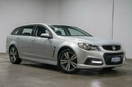 2015 Holden Commodore VF II MY16 SV6 Sportwagon Silver 6 Speed Sports Automatic Wagon Welshpool Canning Area Preview