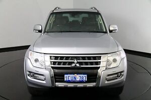 2015 Mitsubishi Pajero NX MY15 Exceed Cool Silver 5 Speed Sports Automatic Wagon Victoria Park Victoria Park Area Preview