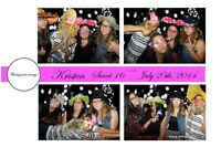 Photo Booth for your Sweet 16 Birthday Party Mayl Special $240