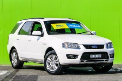 2009 Ford Territory SY Mkii TS AWD White 6 Speed Sports Automatic Wagon Ringwood East Maroondah Area Preview