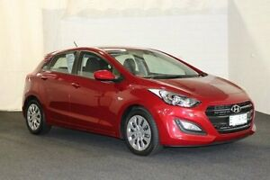 2015 Hyundai i30 GD4 Series 2 Active Fiery Red 6 Speed Manual Hatchback Derwent Park Glenorchy Area Preview