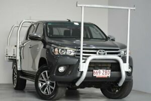 2017 Toyota Hilux GUN126R SR5 Double Cab Grey 6 Speed Manual Utility Indooroopilly Brisbane South West Preview