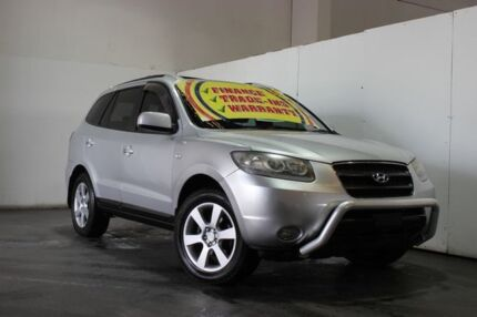 2007 Hyundai Santa Fe CM MY07 Elite CRDi (4x4) Silver 5 Speed Automatic Wagon Underwood Logan Area Preview