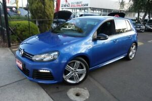 2012 Volkswagen Golf VI MY13 R DSG 4MOTION Blue 6 Speed Sports Automatic Dual Clutch Hatchback Seaford Frankston Area Preview