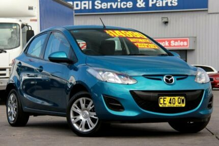 2011 Mazda 2 DE MY10 Neo Blue 4 Speed Automatic Hatchback Arncliffe Rockdale Area Preview