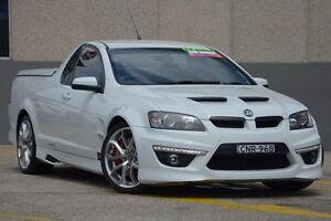 2013 Holden Special Vehicles Maloo E3 MY12.5 R8 White 6 Speed Automatic Utility Wolli Creek Rockdale Area Preview