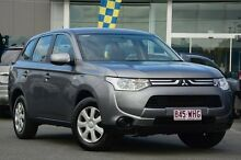 2013 Mitsubishi Outlander ZJ MY13 ES 4WD Grey 6 Speed Constant Variable Wagon Wavell Heights Brisbane North East Preview