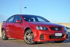 2011 Holden Commodore VE II SV6 Red 6 Speed Sports Automatic Sedan Midland Swan Area Preview