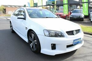 2011 Holden Commodore VE II MY12 SV6 White 6 Speed Sports Automatic Sedan West Footscray Maribyrnong Area Preview