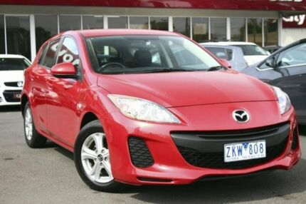 2012 Mazda 3 BL10F2 Neo Activematic Red 5 Speed Sports Automatic Hatchback Seaford Frankston Area Preview