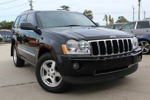 2008 Jeep Grand Cherokee WH MY08 Limited (4x4) Black 5 Speed Automatic Wagon Belmore Canterbury Area Preview