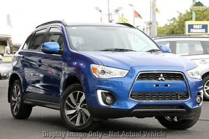 2014 Mitsubishi ASX XB MY15 XLS 2WD Blue 6 Speed Constant Variable Wagon Cannington Canning Area Preview