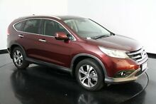 2013 Honda CR-V RM VTi-L 4WD Red 5 Speed Automatic Wagon Welshpool Canning Area Preview