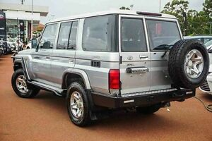 2011 Toyota Landcruiser VDJ76R MY10 GXL Silver 5 Speed Manual Wagon Westminster Stirling Area Preview