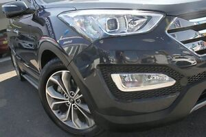 2013 Hyundai Santa Fe DM Highlander CRDi (4x4) Blue 6 Speed Automatic Wagon Wolli Creek Rockdale Area Preview