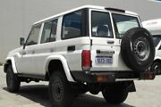 2012 Toyota Landcruiser Workmate White 5 Speed Manual Wagon Beckenham Gosnells Area Preview