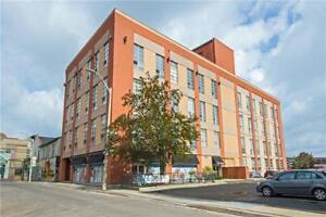True Industrial Style Lofts In Hamilton! Rare Unit With Parking!