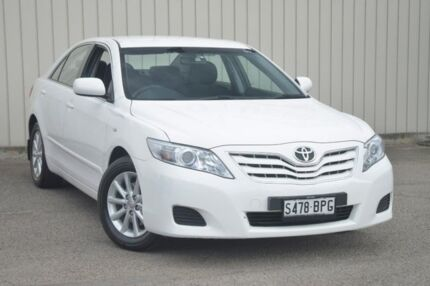 2011 Toyota Camry ACV40R MY10 Altise White 5 Speed Automatic Sedan Valley View Salisbury Area Preview