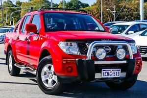 2014 Nissan Navara D40 S9 Red 5 Speed Automatic Utility Myaree Melville Area Preview