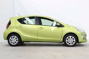 2015 Toyota Prius c NHP10R E-CVT Green 1 Speed Constant Variable Hatchback Hybrid Seven Hills Blacktown Area Preview