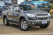 2013 Holden Colorado RG MY14 LTZ Crew Cab 4x2 Grey 6 Speed Manual Utility Morley Bayswater Area Preview