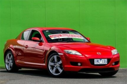 2007 Mazda RX-8 FE1031 MY06 Red 6 Speed Manual Coupe Croydon North Maroondah Area Preview