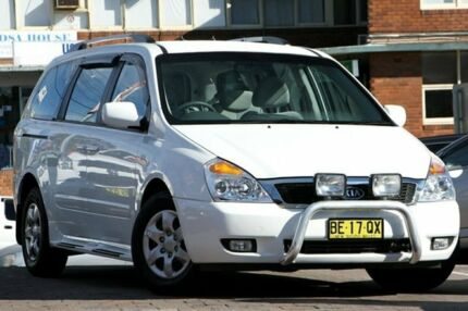 2010 Kia Grand Carnival VQ MY11 SI White 5 Speed Automatic Wagon Waitara Hornsby Area Preview