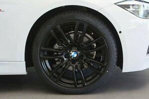 2016 BMW 318I F30 LCI M Sport White 8 Speed Sports Automatic Sedan Wangara Wanneroo Area Preview