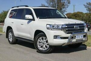 2015 Toyota Landcruiser VDJ200R VX Crystal Pearl 6 Speed Sports Automatic Wagon Clarkson Wanneroo Area Preview
