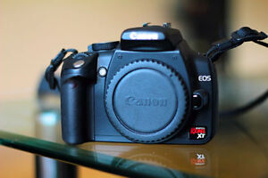 Canon EOS 350D / Digital Rebel XT With 18-55 lens