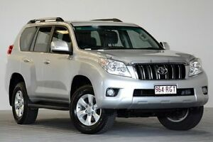 2010 Toyota Landcruiser Prado KDJ150R GXL (4x4) Silver 5 Speed Sequential Auto Wagon Coopers Plains Brisbane South West Preview